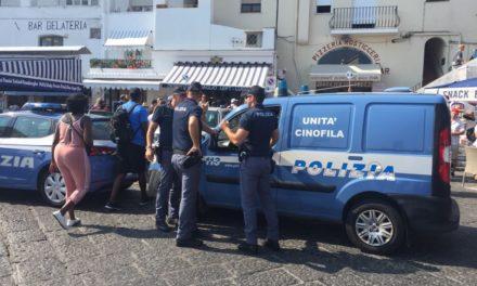 Operazione antidroga a Capri