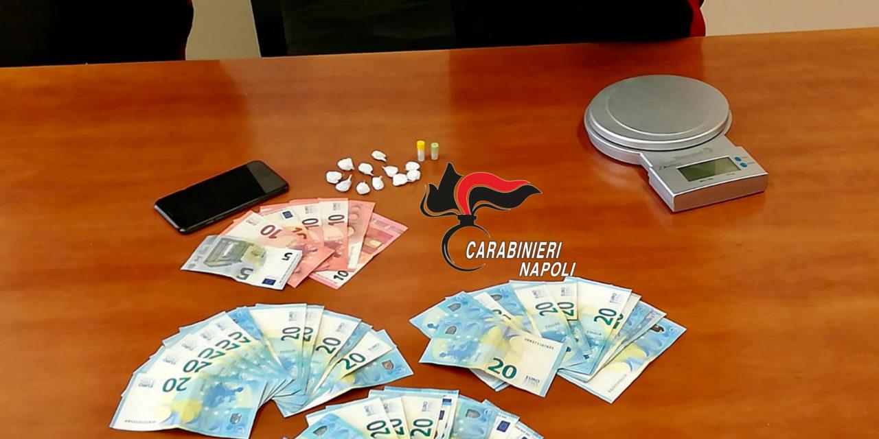 CARABINIERI ANACAPRI: ARRESTATO CORRIERE DI DROGA