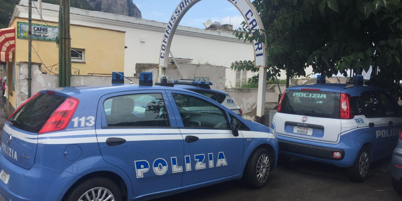 POLIZIA: ARRESTATO CON OLTRE 50 GRAMMI DI MARIJUANA A CAPRI