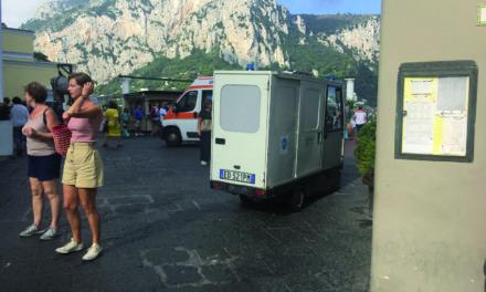 L'AMBULANZA DEL 118 E' FERMA, H24 LA SAN VINCENZO DE' PAOLI