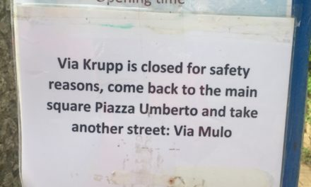LO SCANDALO DI VIA KRUPP, CHISSA' PERCHE' PRIVATIZZARE A TUTTI I COSTI