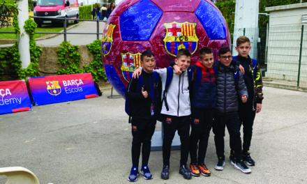 DENIS FARACE AL CAMPUS DEL FC BARCELLONA