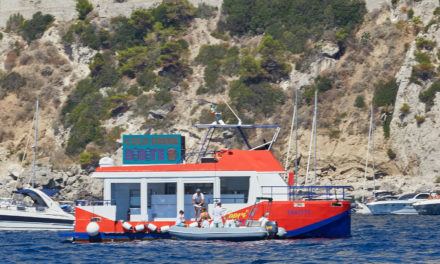 Capri Sea Bar prima in Europa, iniziativa isolana per le acque di Capri