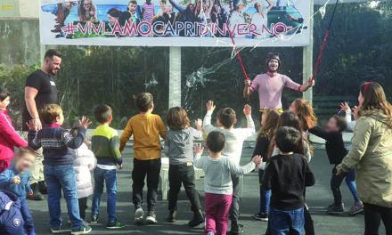 #VIVI…AMOCAPRID'INVERNO iniziativa invernale dell'assessore Salvatore Ciuccio che è quanto più gradito non solo dai bimbi