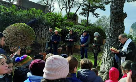 UN MELOGRANO PER MATTEO piantato un albero in occasione della giornata mondiale del cancro infantile
